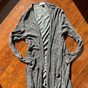 Lularoe Sara Cardigan size medium